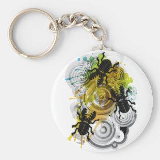 Stag_Beetle Key Ring