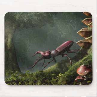 Stag Beetle Mouse Pad
