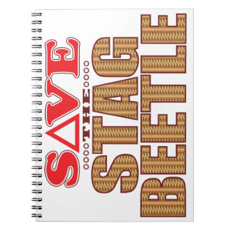 Stag Beetle Save Notebooks