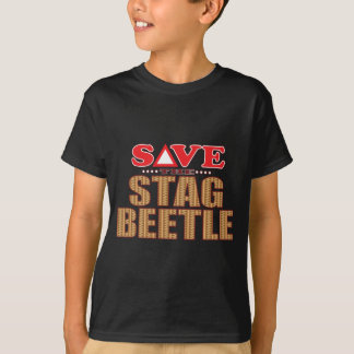 Stag Beetle Save T-Shirt