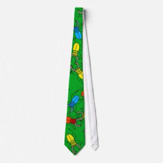 Stag Beetle Wallpaper Tie