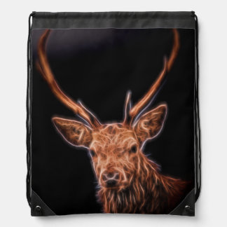 Stag Drawstring Backpack