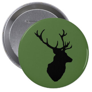 """Stag Head"" design stag night badges"