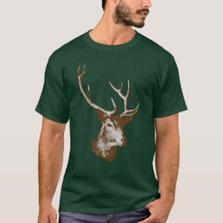 stag head T-Shirt