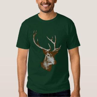 stag head tshirt