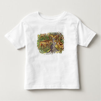 Stag Hunt, from 'Brevis Narratio' Toddler T-Shirt
