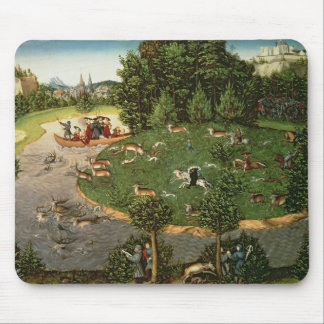 """Stag Hunt of Elector Friedrich III the """"Wise"""" Mouse Pad"""