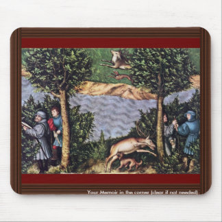 Stag Hunt Of The Elector Frederick The Wise Detail Mouse Pad