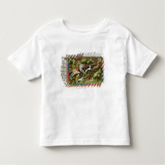 Stag Hunting, from the Livre de la Chasse Toddler T-Shirt
