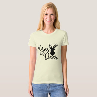 Stag Hunting Quote T-Shirt