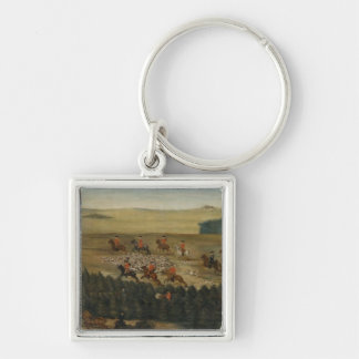 Stag-hunting with Frederick William I of Prussia Key Ring