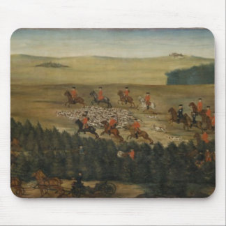 Stag-hunting with Frederick William I of Prussia Mouse Mat