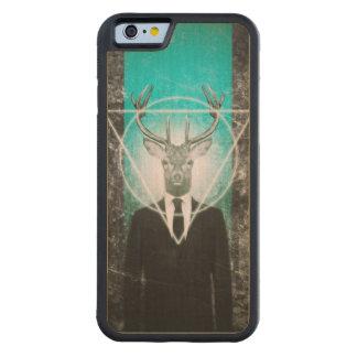 Stag in suit maple iPhone 6 bumper case