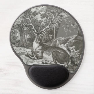 Stag In The Forest Gel Mouse Pad