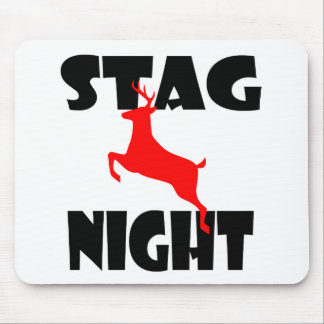 stag night mousepad