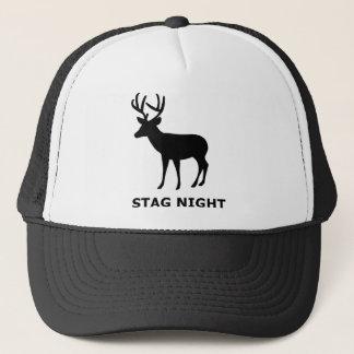 Stag Night Trucker Hat