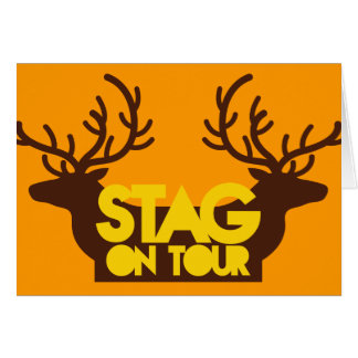 STAG on TOUR Card