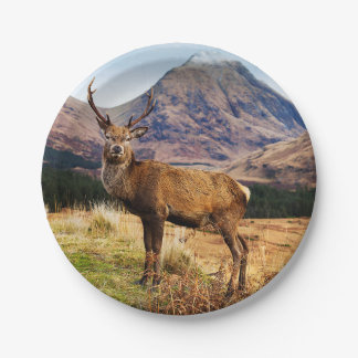 Stag Paper Plate
