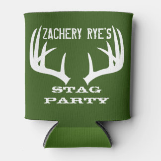 Stag Party - Custom Bachelor Party Can Cooler