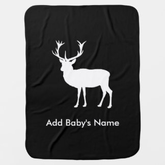 Stag Party - Elegant Drawing of a Stag Pramblanket