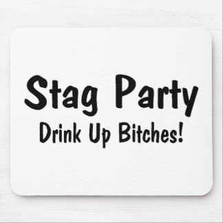 Stag Party Mouse Pad