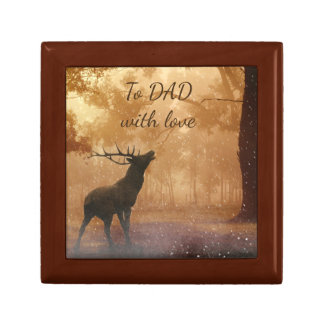 Stag picture Dad Gift Box