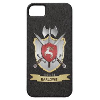 Stag Sigil Battle Crest Black iPhone 5 Cover