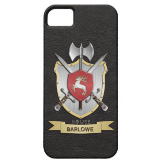 Stag Sigil Battle Crest Black iPhone 5 Covers