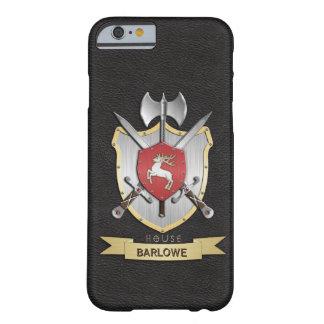 Stag Sigil Battle Crest Black iPhone 6 Case