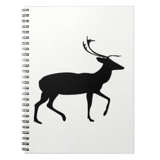 Stag Silhouette Notebooks