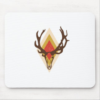 Stag Skull Mouse Pad