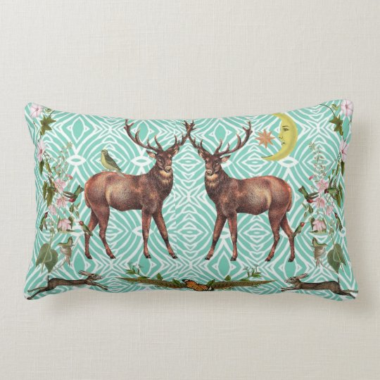 Stag Spirit Animal Pillow