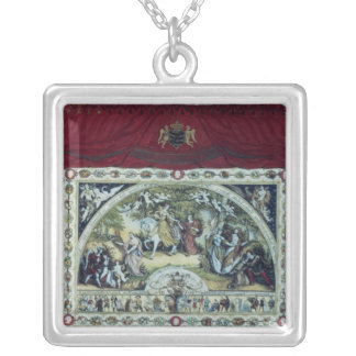 Stage and decorative curtain of the Dresden Silver Plated Necklace