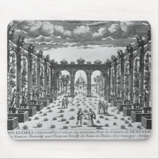 Stage by Giacomo Torelli  for 'Venere Gelosa' Mouse Mat