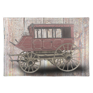 STAGE COACH PLACEMAT