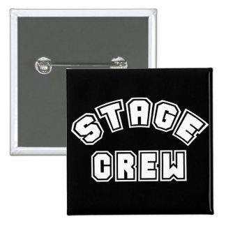 Stage Crew 15 Cm Square Badge