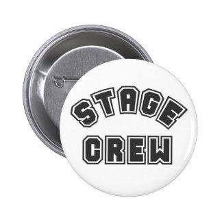 Stage Crew 6 Cm Round Badge