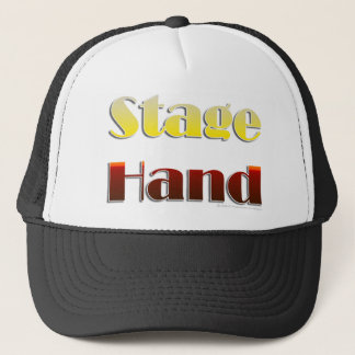 Stage Hand (Text Only) Cap