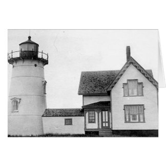 Stage Harbor Lighthouse Greeting Card