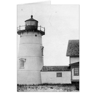 Stage Harbour Lighthouse Greeting Card