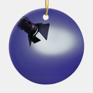 Stage Light Christmas Ornament