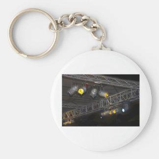 stage light keychains