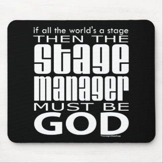 Stage Manager God Mouse Pad