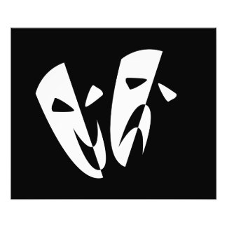 Stage Masks Photo Print