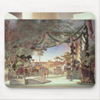 Stage model for the opera 'Die Meistersinger Mouse Mat
