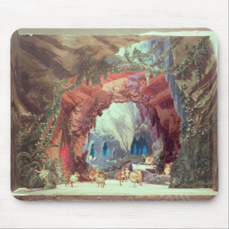 Stage model for the opera 'Tannhauser' Mouse Pad