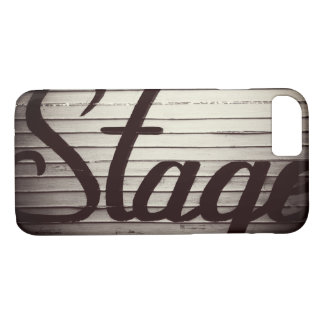 """Stage"" Vintage Sign iPhone 8/7 Case"