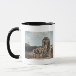 Stage Waggon, engraved by J. Baily Mug