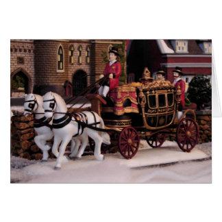 Stagecoach Christmas Card