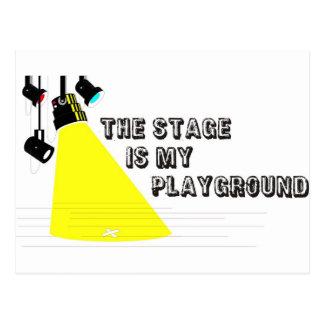 StageIsMyPlayground Postcard